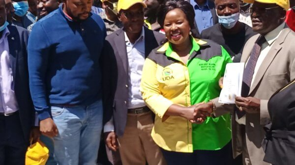 Margaret Wanjiru unveiled as UDA candidate in Nairobi by election