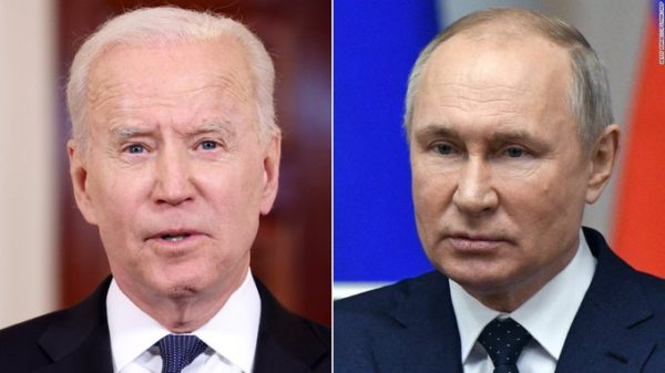 Biden and Putin hold different press conference after a summit in Geneva
