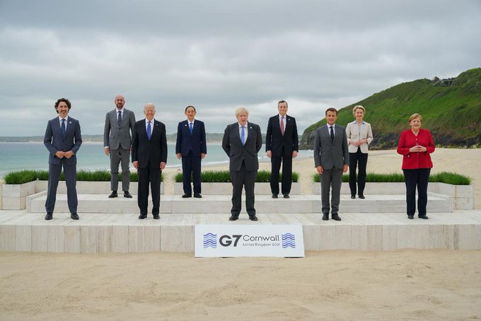 END OF G7 SUMMIT: Western Powers Commit 1bn Jabs To Poor Countries