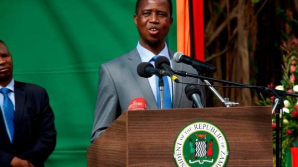 Zambia President Edgar Lungu is stable after collapsing druring national defence day in capital Lusaka